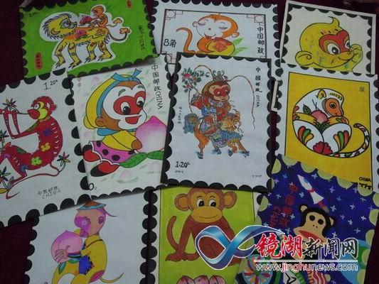 狮子山社区:开展生肖邮票设计大赛