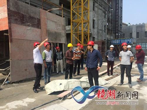 上下联动开展建筑工地安全生产大检查